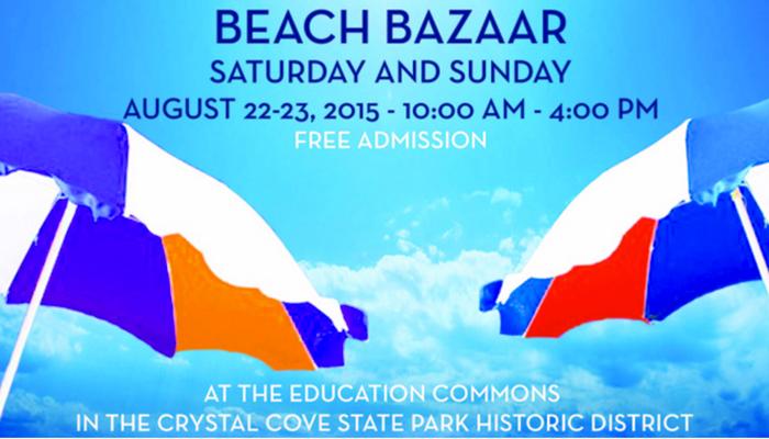 Crystal Cove Alliance Beach Bazaar