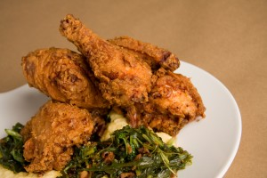 Crow Bar Kitchen Duck Fat Fried Chicken (Bob Hodson Photography)