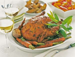 Zovs NB Rotisserie Garlic Herb Chicken
