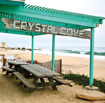 Crystal Cove: Beautiful Preserved Scenery, Educational Fun, & Beachy Eats