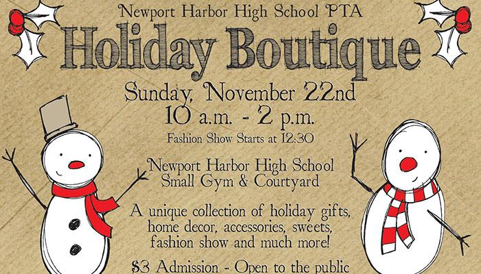 Newport Harbor Holiday Boutique