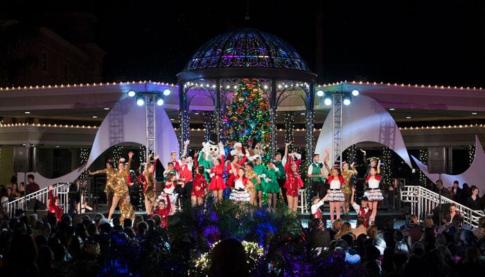 Balboa Bay Resort's Holiday Tree Lighting Ceremony