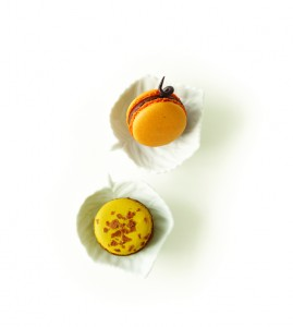 lette Pumpkin Macarons (Tina Rupp)
