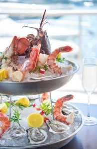 The Ritz Prime Seafood Seafood Tower