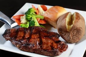 Malarky's Irish Pub NY strip steak
