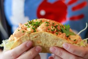 Slapfish Crispy Tuna Taco (Slapfish)