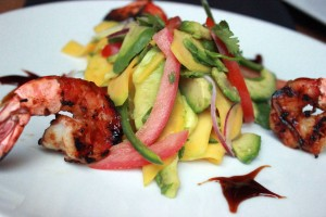 The Bungalow - Shrimp Mango Salad