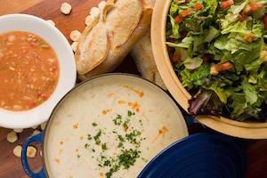 Bluewater Grill Clam Chowder