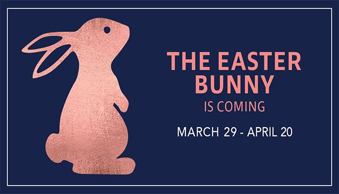 Easter Bunny at Fashion Island