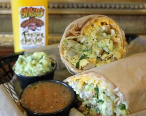 Sancho's Tacos Breakfast Burrito (Larry Tenney)