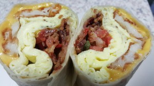 Tackle Box Breakfast Burrito (Brian Huskey)