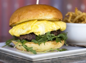 Zov's Breakfast Burger (Niyaz Pirani, Knife & Spork PR)
