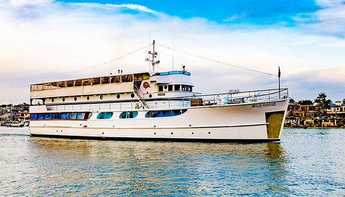 John Wayne Birthday Cruises aboard the Wild Goose