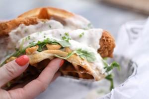 Trough Chicken and Waffles (The Trough Sandwich Kitchen)