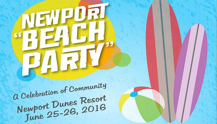 "Newport ""Beach Party"" with Kansas City BBQ"