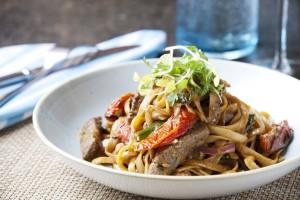 Coliseum Pool & Grill - Thai Fettucine Pasta