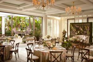 Island Hotel Cabana Wedding