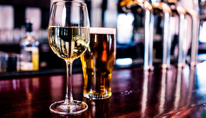 Beer VS. Wine Dinner at Waterline