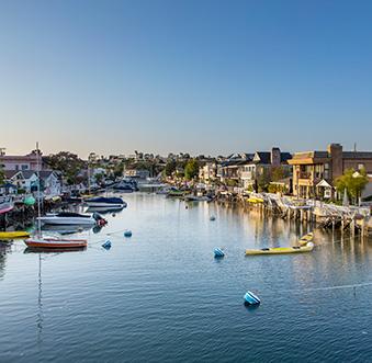 Balboa Island: Then and Now