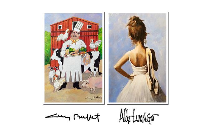 Meet world-famous artists Guy Buffet & Aldo Luongo at Lahaina Galleries