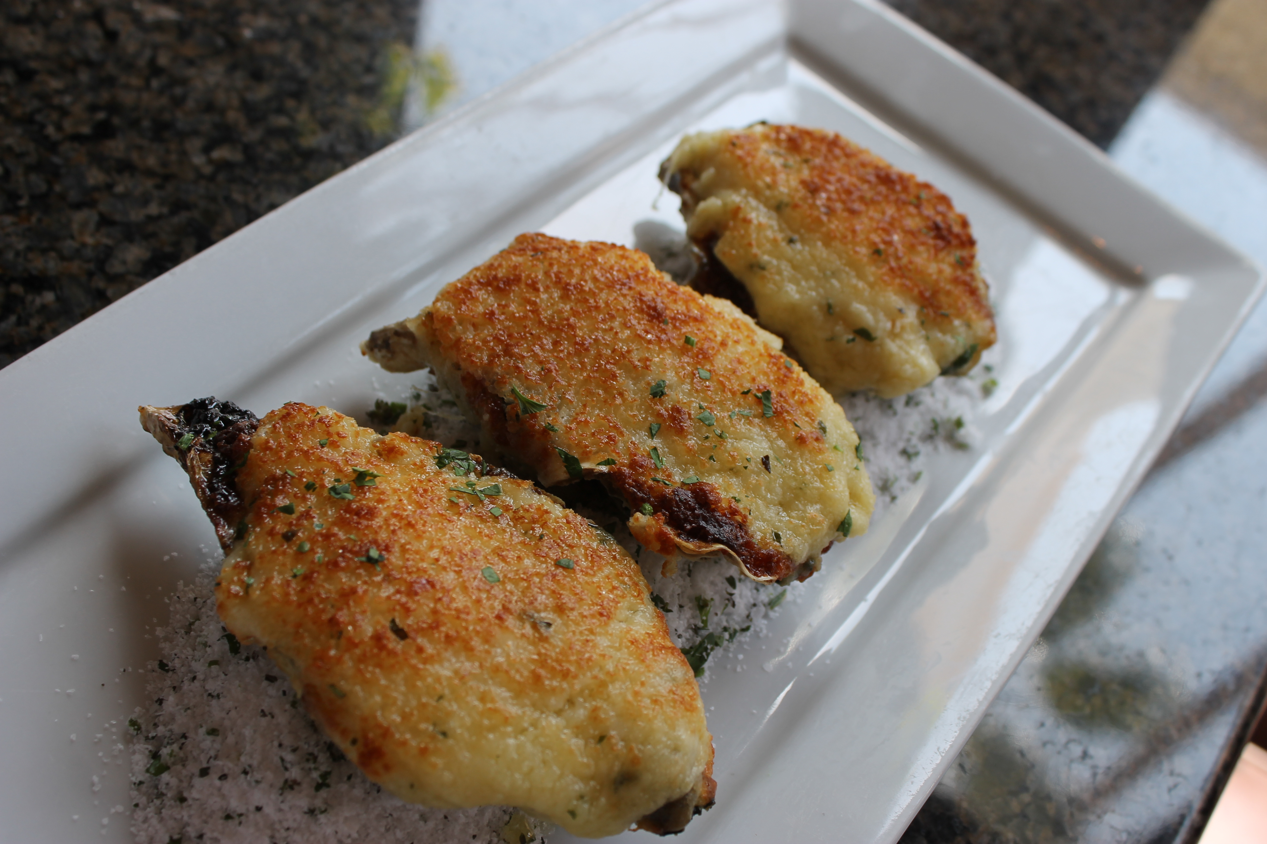 Bluewater Grill - Oysters Rockefeller