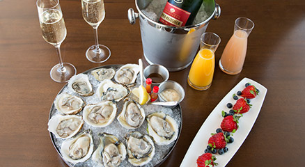 The Ritz - Piper Heidseick Champagne and Oysters
