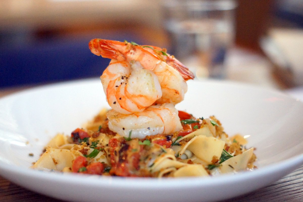 Proper Pasta Dishes Aren T Solely The Domain Of Italian Restaurants If You Re Skeptical This Roasted Shrimp Pardelle Served At