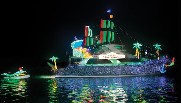 Newport Landing Boat Parade Holiday Lights Cruises 2018