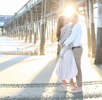 Setting the Scene for the Perfect Newport Beach Engagement Photos