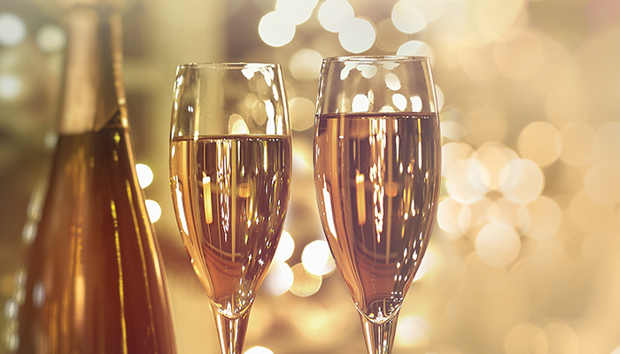 New Year 's Eve Veuve Cliquot Champagne Dinner at Waterline