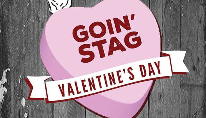 Going Stag for Valentine's Day
