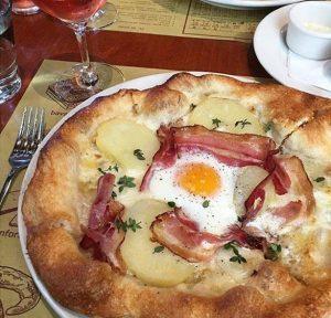 Breakfast Pizza Pizzeria Mozza