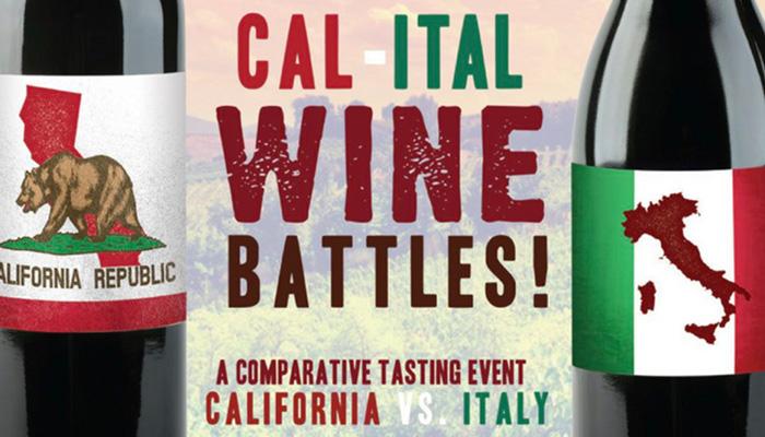 Cal-Ital Wine Tasting Battle at Il Farro