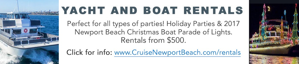 Yacht and boat rentals in Newport Beach