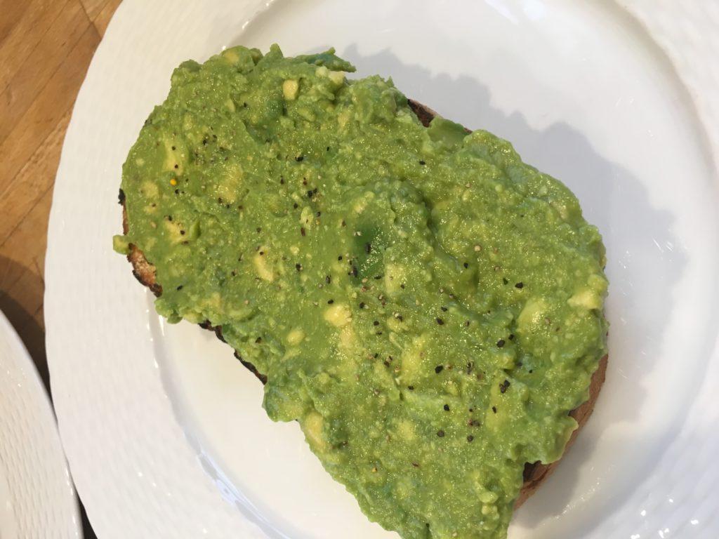 KIT Coffee Avocado Toast