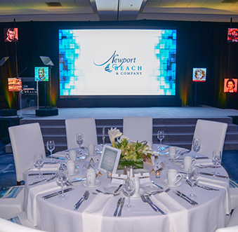Weave the destination into your event to create a wow factor at the awards dinner