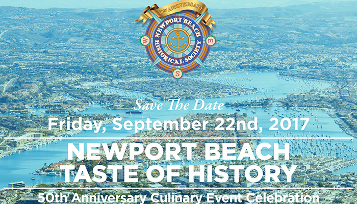 Newport Beach Taste Of History