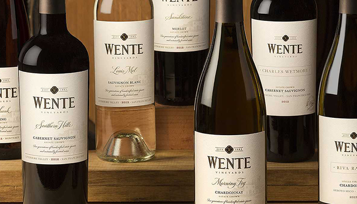 Wente Wine Dinner at Red O