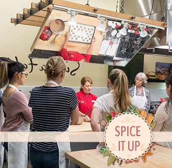 Interactive Cooking Classes and Chef Demos