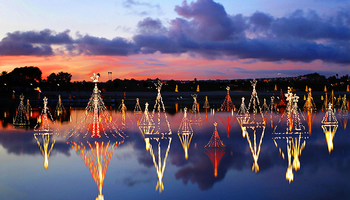 Lighting of the Bay at Newport Dunes