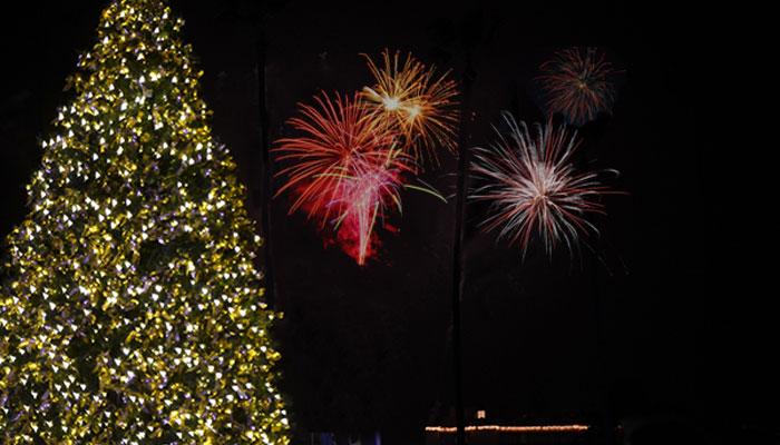 Marina Park Christmas Boat Parade Festivities