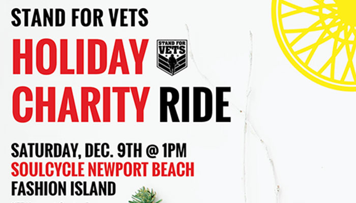 Holiday Charity Ride for Vets