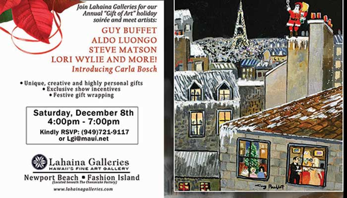 The Gift of Art Show at Lahaina Galleries