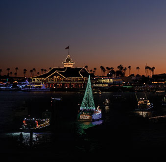 Newport Beach Christmas Boat Parade Grand Marshals
