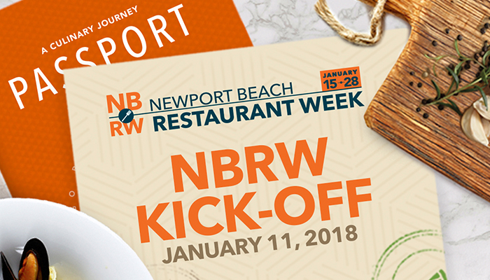 "Newport Beach Restaurant Week ""Culinary Journey"" Kickoff Event"