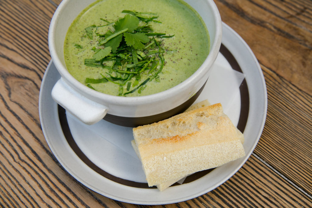 zinque Broccoli Curry Soup