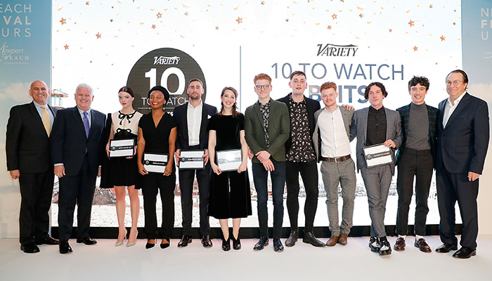 Honorees include icons such as Sir Patrick Stewart, Gurinder Chadha, Celia, Imrie, Andy Serkis, as well as the film Darkest Hour, new talent, and more