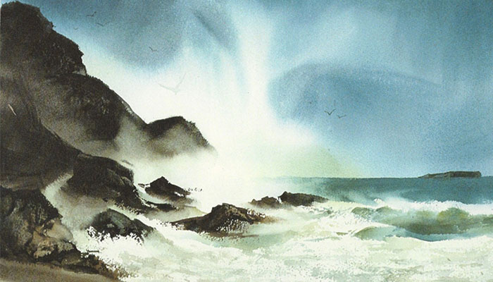 Watercolor Exploration at Seaside Gallery & Goods