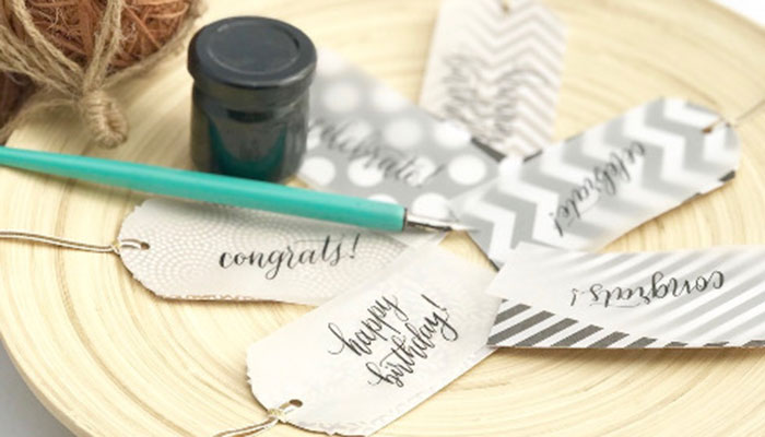 Modern Calligraphy at Seaside Gallery & Goods