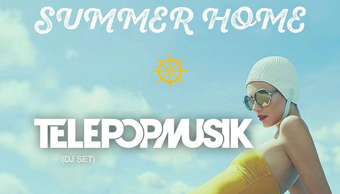 Summer Home with Télépopmusik at Back Bay Bistro